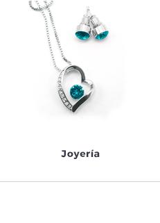 Magiistino joyeria aretes y collares de plata y cristales Swarovski para mamá