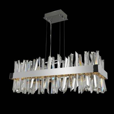 Allegri Lighting Crystal Pendants, Chandeliers, Wall Sconces, & Ceiling Lights - Glacier Collection