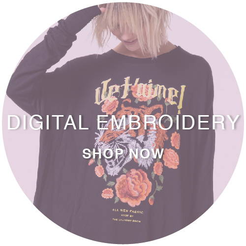 Digital Embroidery - Shop Now
