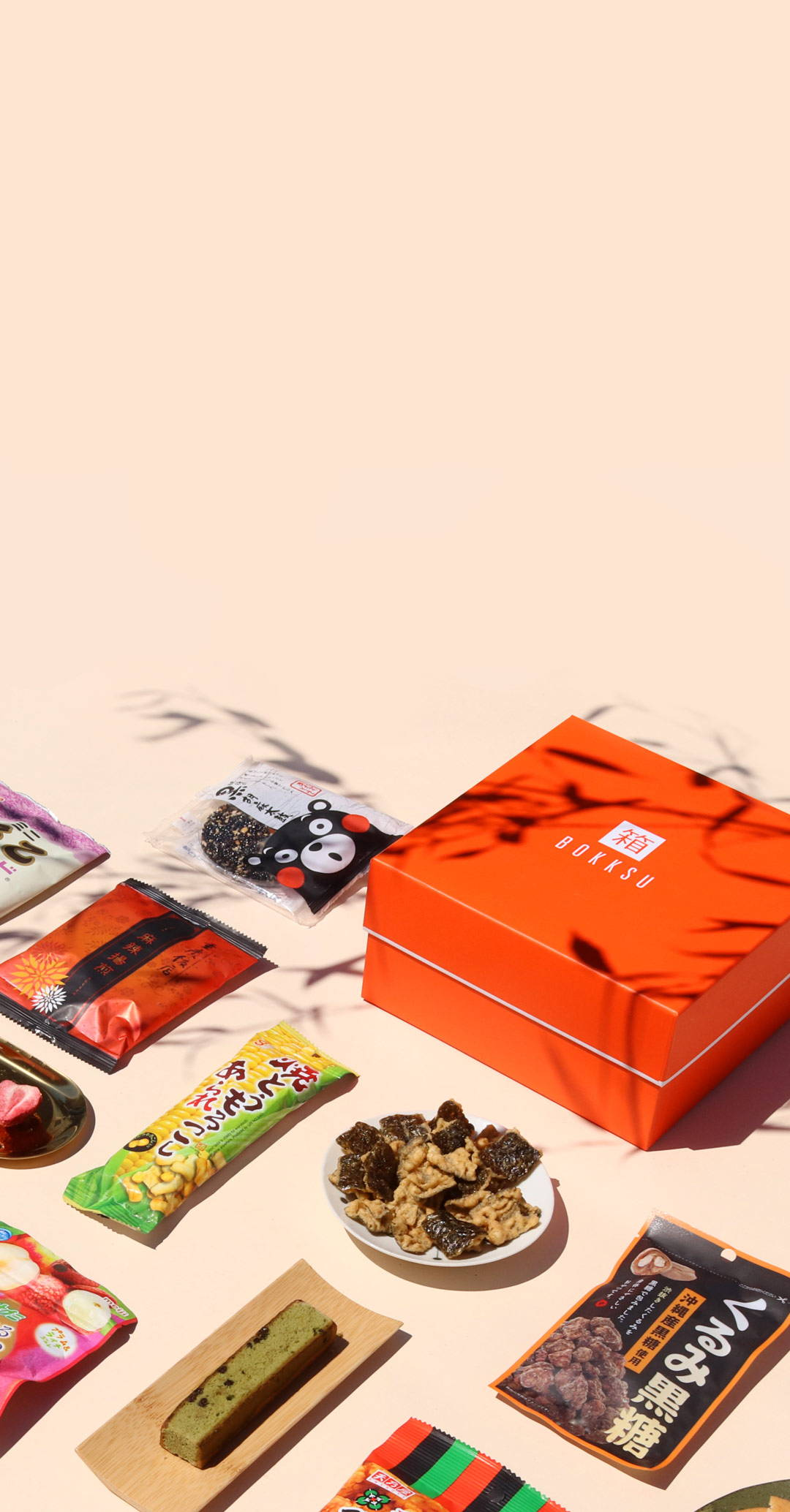 Bokksu Japanese snack subscription box homepage banner