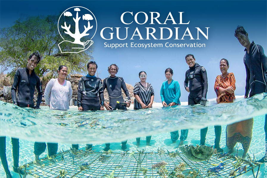 Conservation Corner: Aqua Lung Partner, Coral Guardian