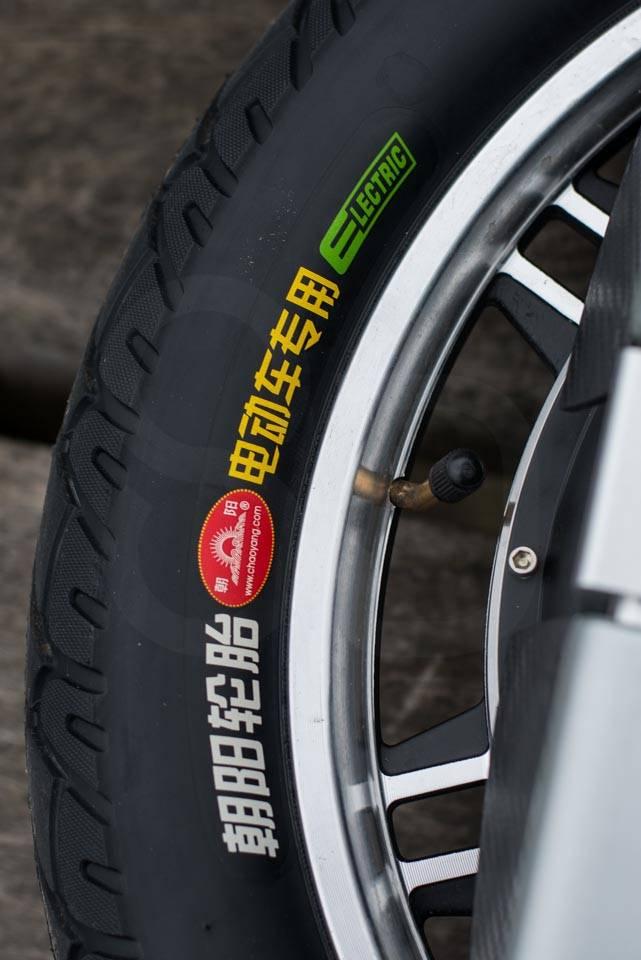 Gotway MSuperX MSX EUC Review tyre branding