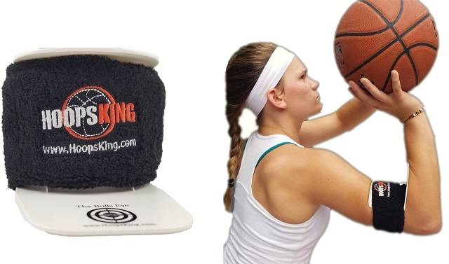 Bulls Eye Basketball Shooting Aid