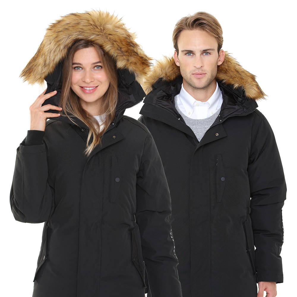 0dd5993dd3c The luxurious Heated Parka is probably the warmest jacket you'll ever wear.  Made with white down filling, the heated parka features heated hand  pockets, ...