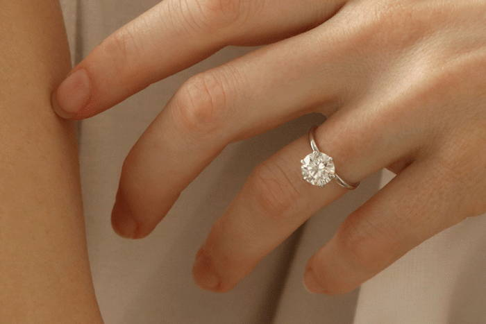 Soliaire Engagement Ring