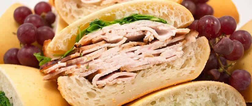 Bagelinos Lemon Turkey Sandwich