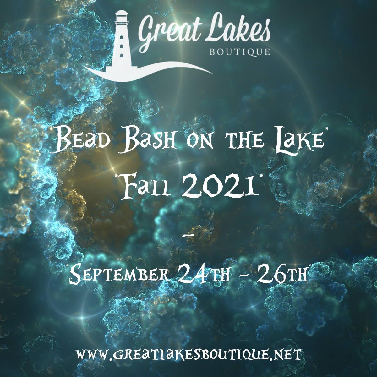 Bead Bash on the Lake Fall 2021