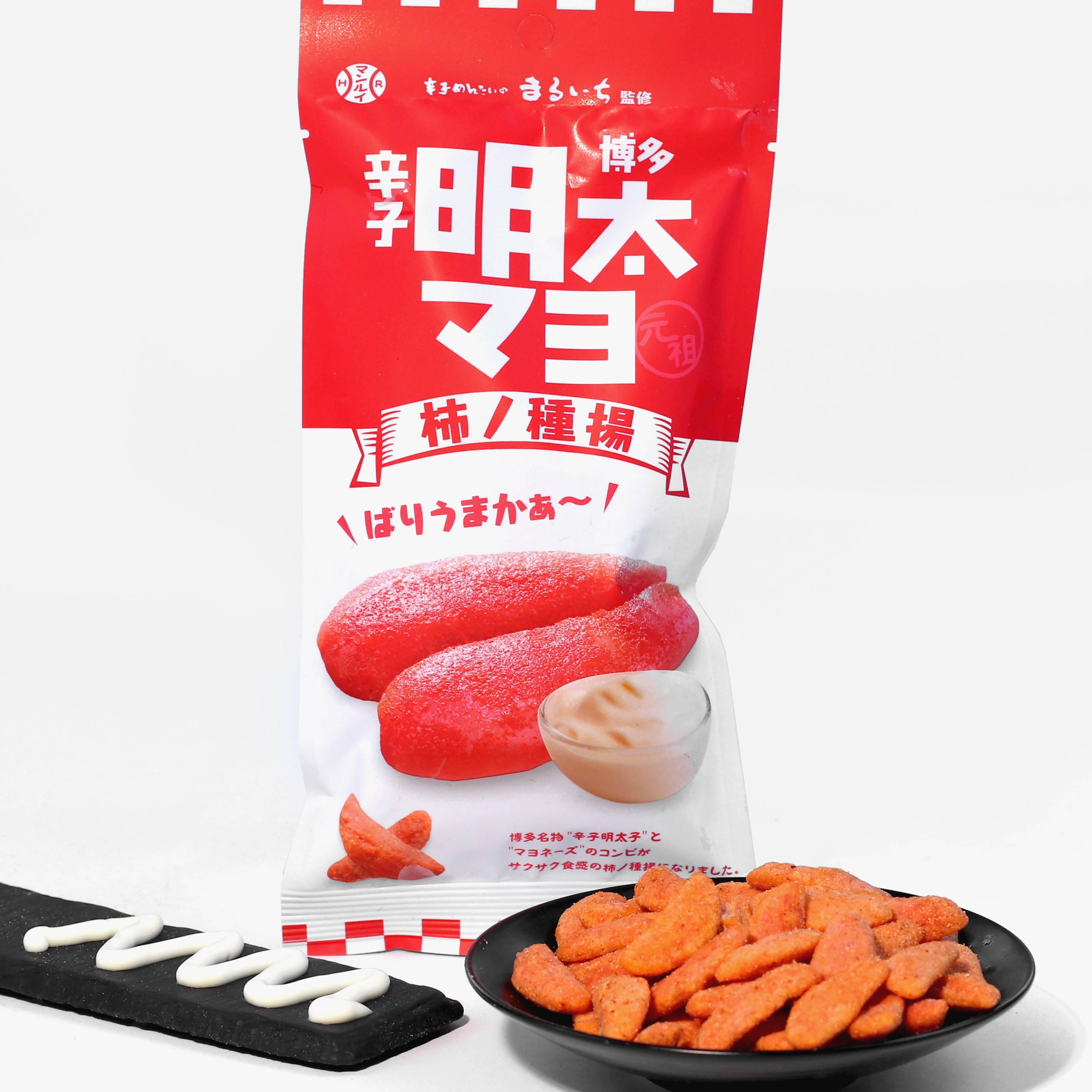 Fried Kakinotane: Hakata Karashi Mentai Mayo Flavor
