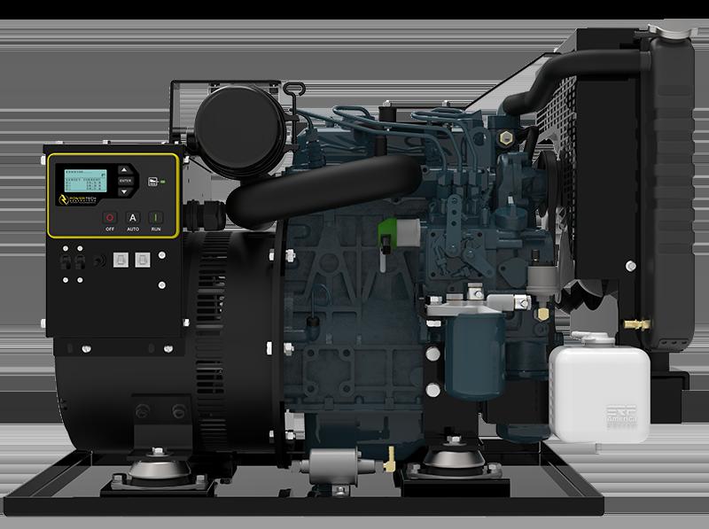 Open Diesel Commercial Generator