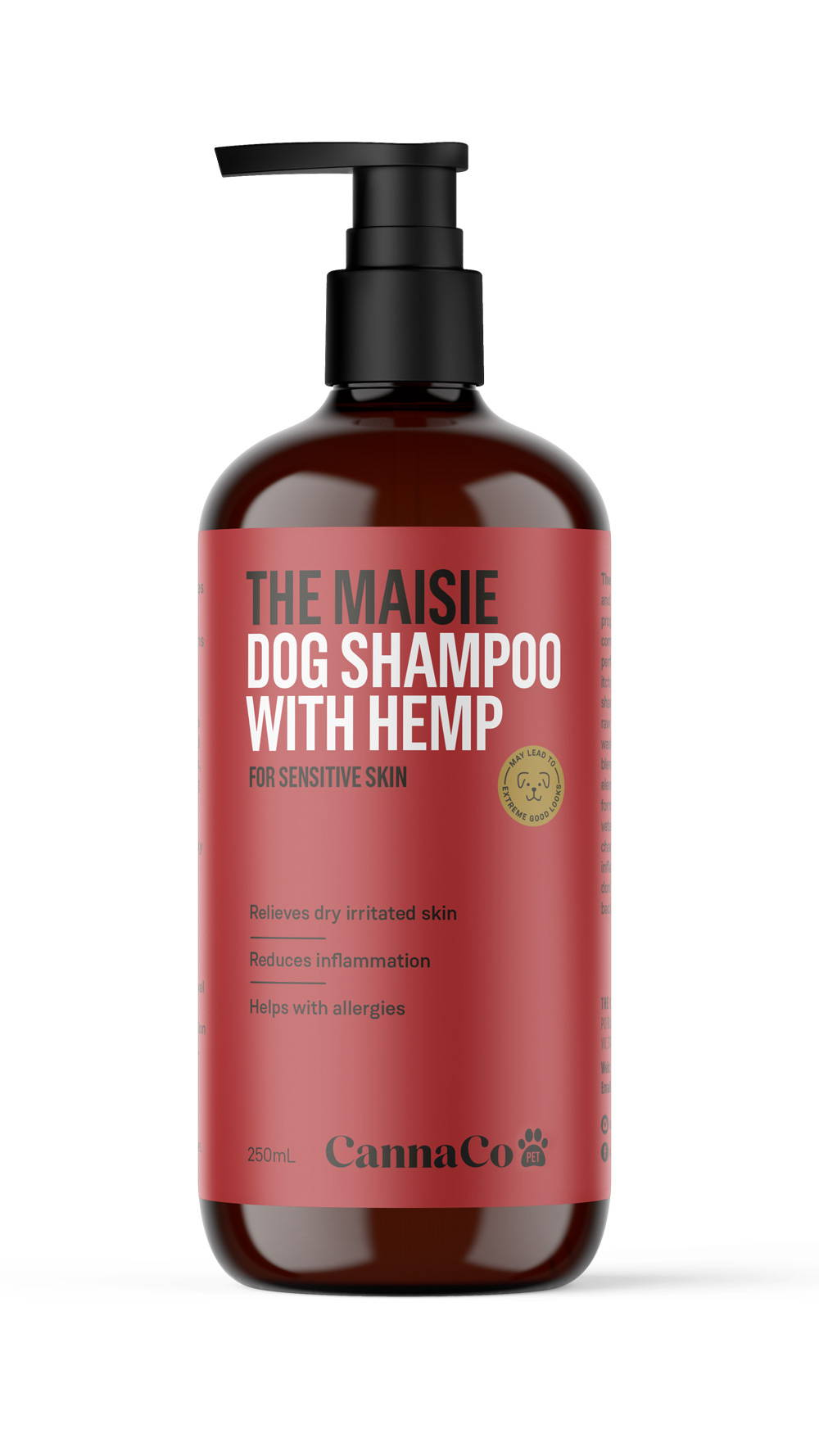 The Maisie – Dog Shampoo with Hemp for Sensitive Skin