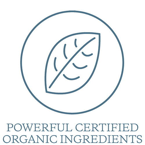 Powerful Certified Organic Ingredients
