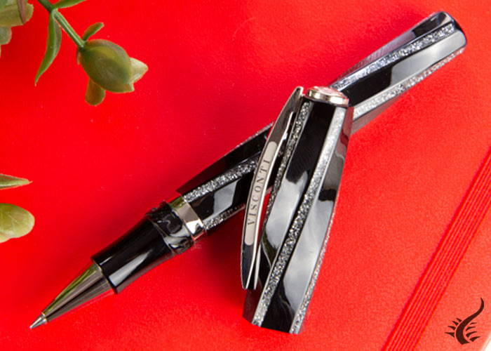 Roller Visconti Divina Fashion, Noir/Argent