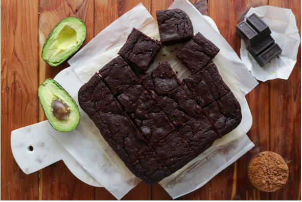 Keto Avocado Brownie