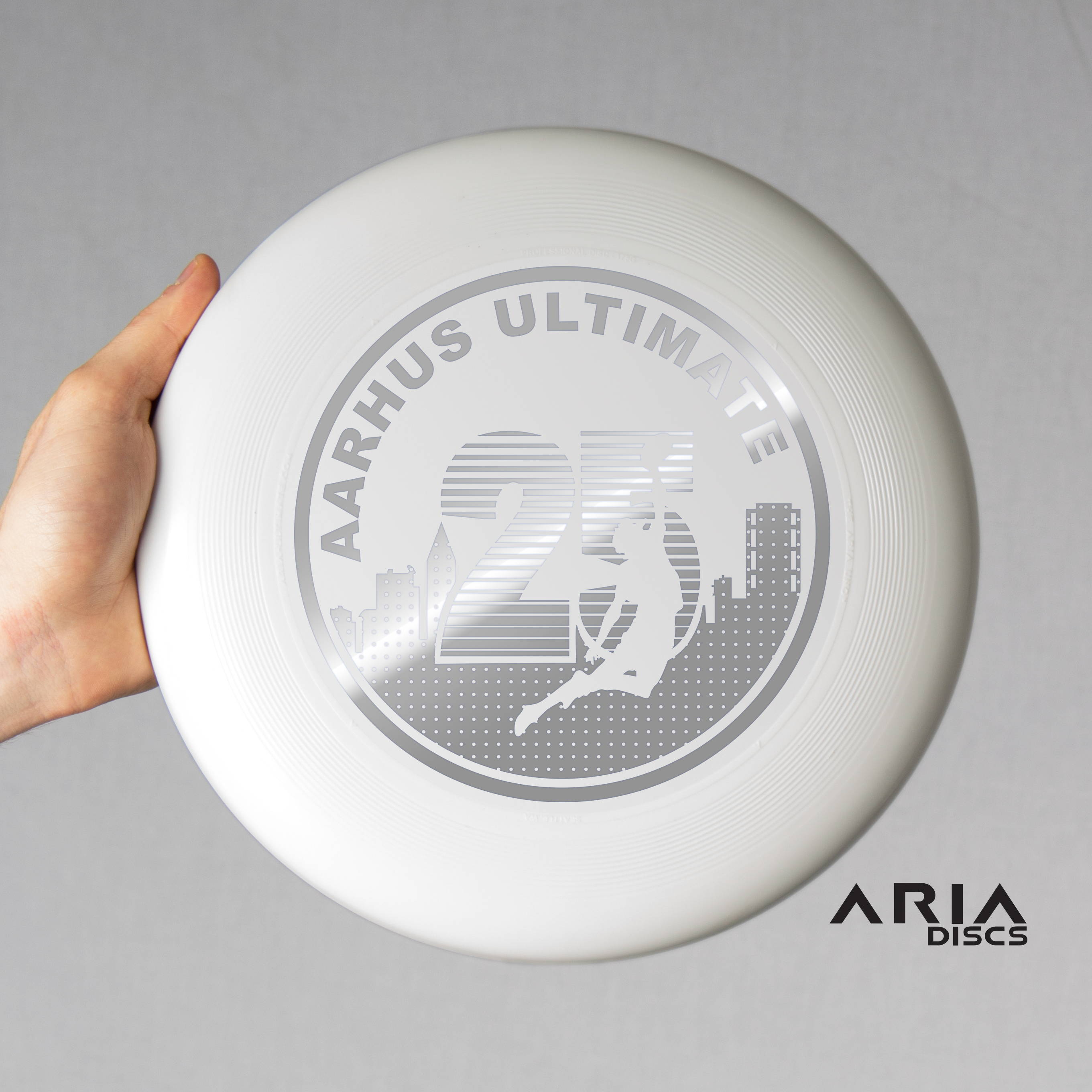 ARIA professional official ultimate flying disc for the sport commonly known as 'ultimate frisbee'