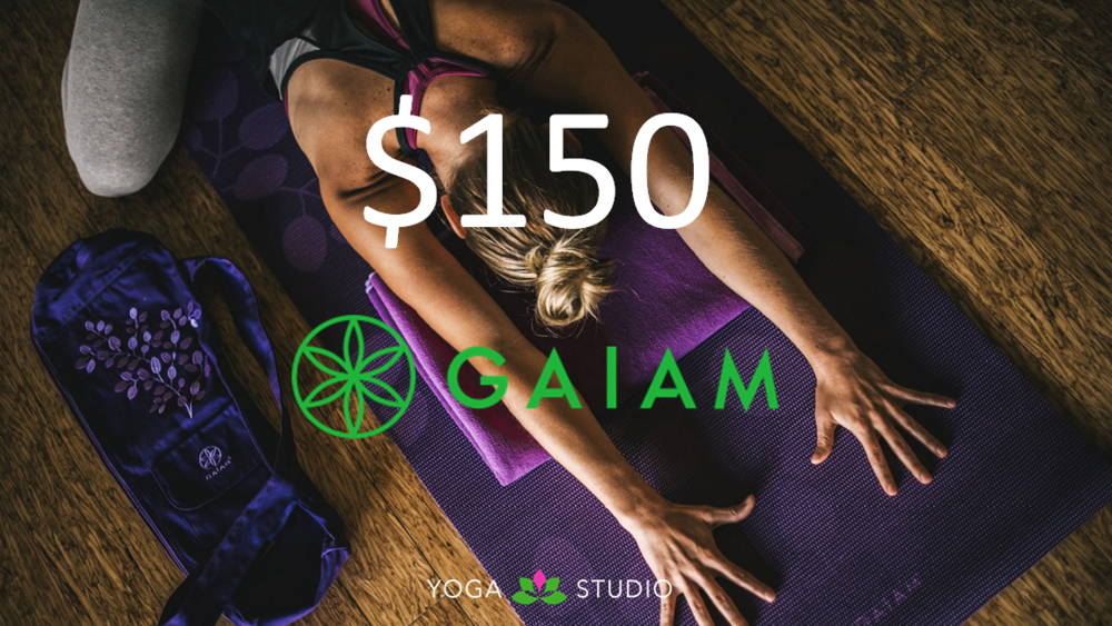 Win a $150 Gaiam Gift Card