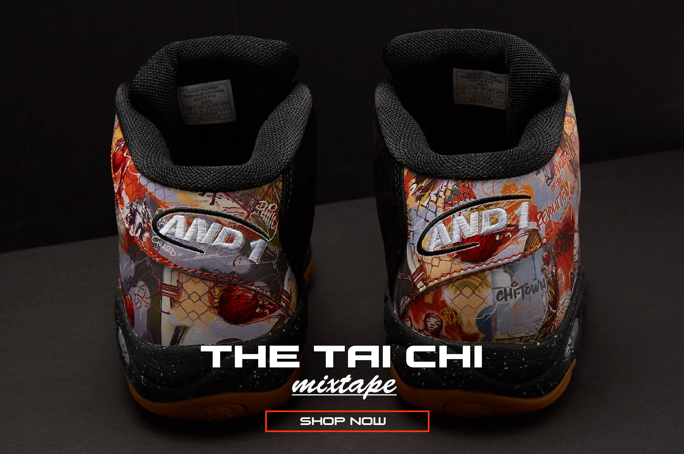 And1 Com The Tai Chi Mixtape Free Mixtape With Purchase