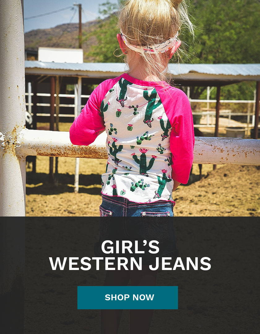 Girl's Western Jeans from Cowboy & Cowgirl Hardware