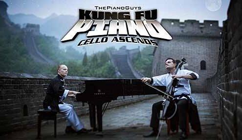 Kung Fu Piano: Cello Ascends - The Piano Guys