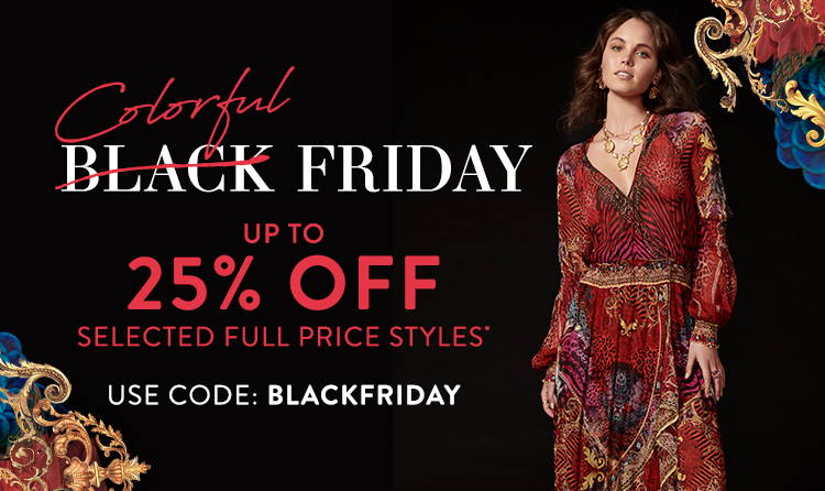 Colorful Black Friday | up to 25% Off* Use Code: BLACKFRIDAY