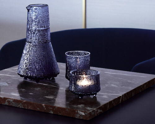 Contemporary candle holders from ittala.