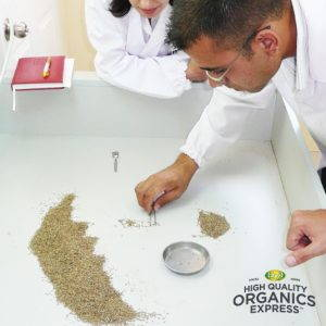 High Quality Organics Express Leaf with Water Quality Control