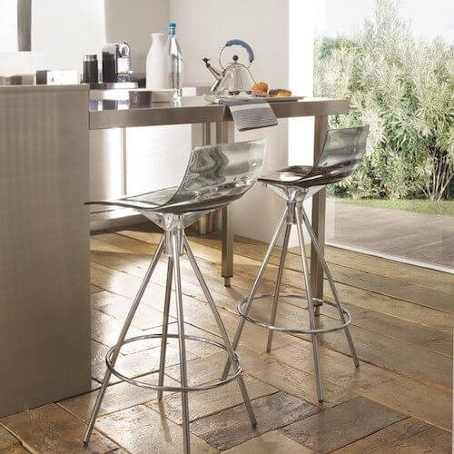 Connubia L'eau Counter Stool