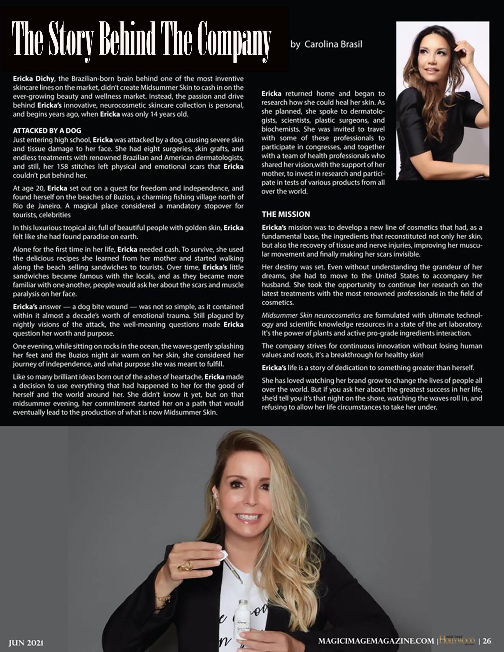 Magic Image Magazine Jun 2021 Emmys Issue Pag 26 Midsummer Skin
