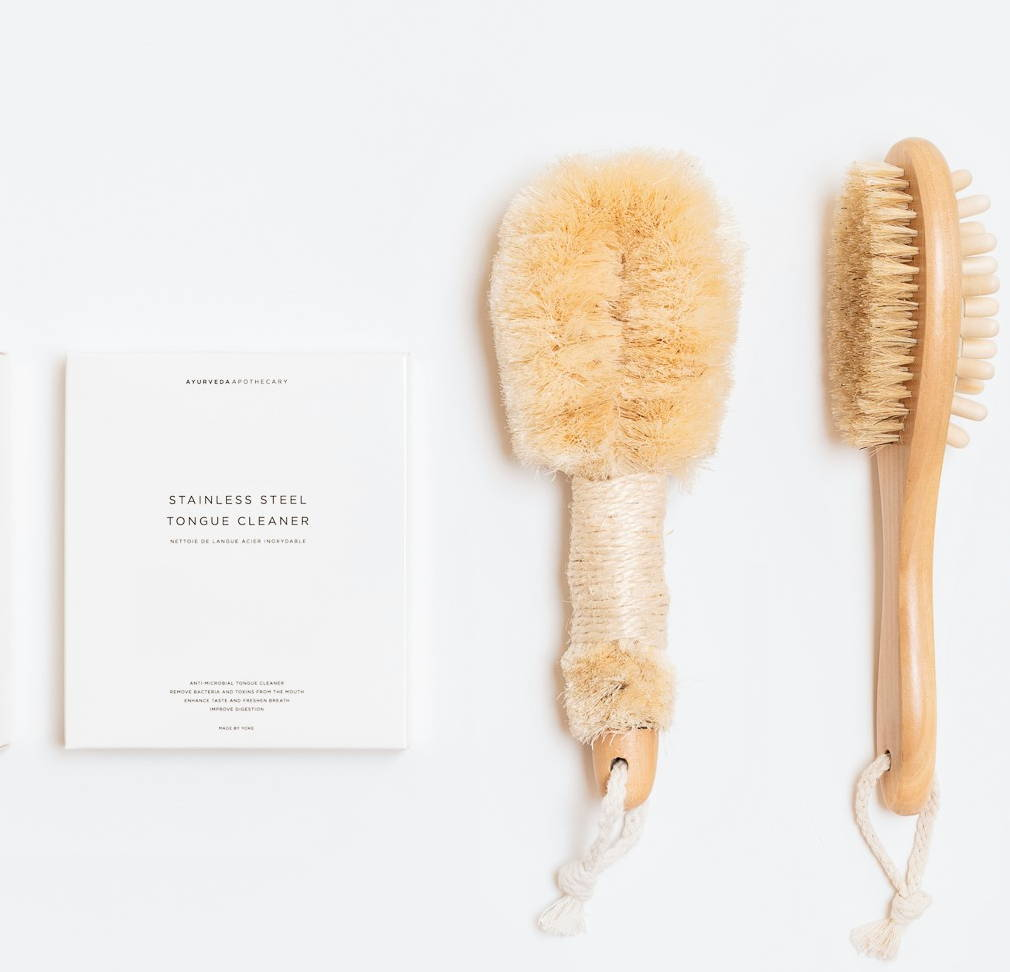 Herbal Apothecary Wellness Products | Ayurveda Apothecary Brushes | Made By Yoke