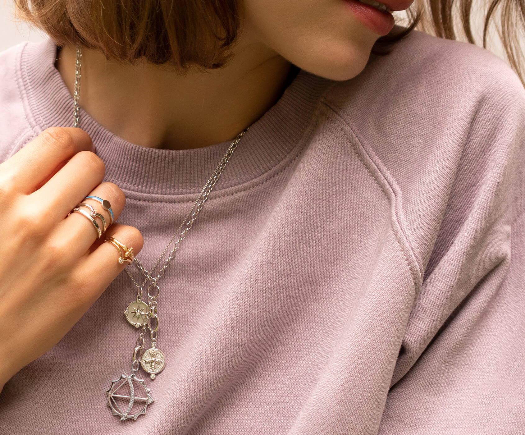 Design her custom Charm Necklace