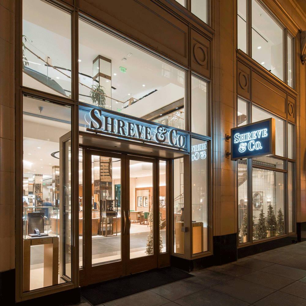 Shreve & Co San Francisco Store Front