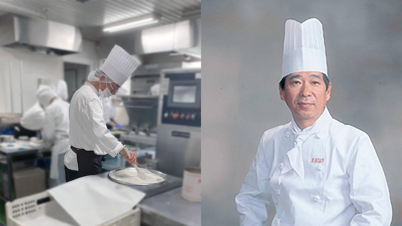 Hokkaido snack maker Akai Ribon