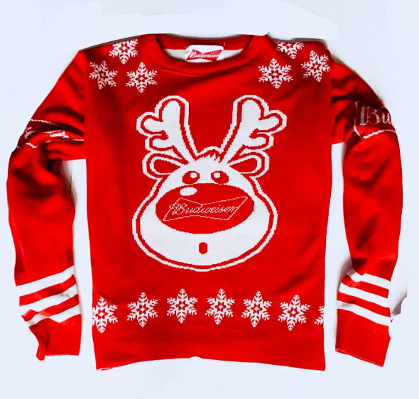 Budweiser Christmas Sweater