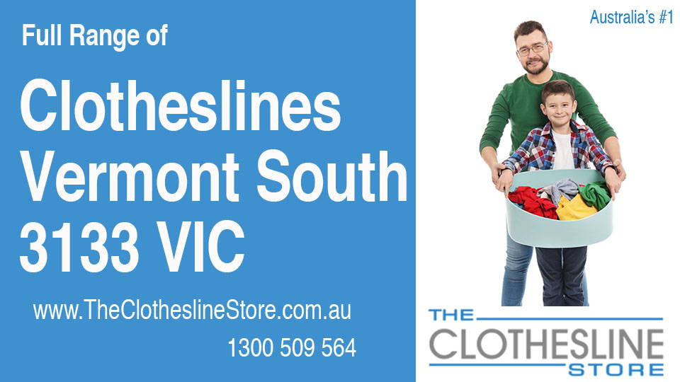 New Clotheslines in Vermont South Victoria 3133