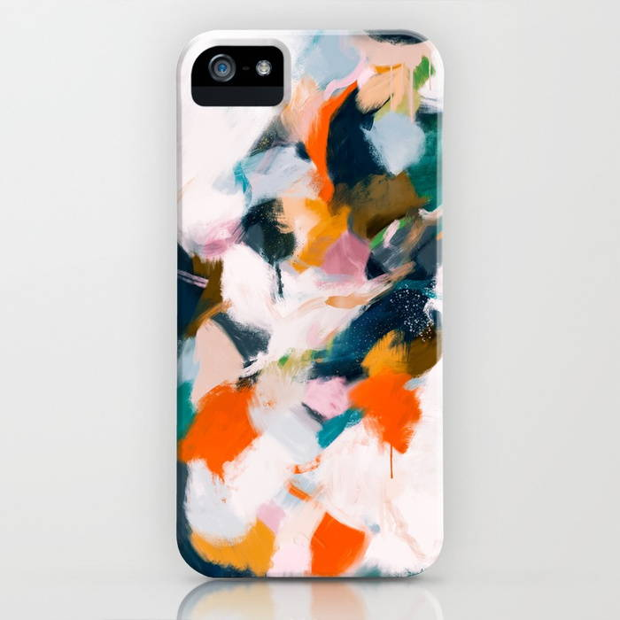 Zara iPhone Case by Parima Studio