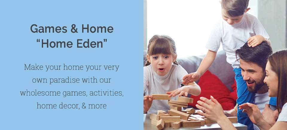 eden shack home eden collection banner