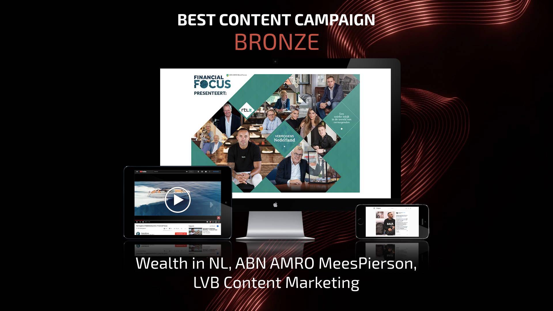 Best Content Campaign - Bronze