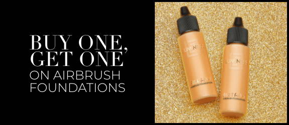 Buy One, Get One on Airbrush Foundations