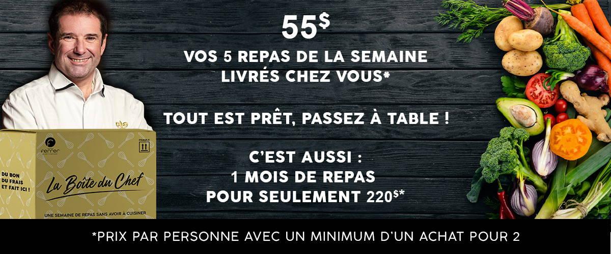 La Boite Du Chef Des Repas Deja Prets Et Sans Abonnement La