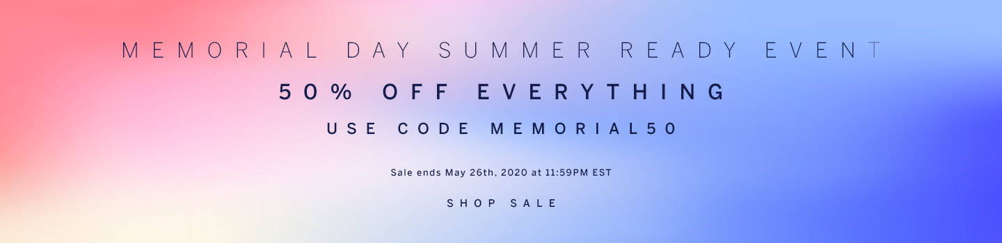 Memorial Day Summer Sale