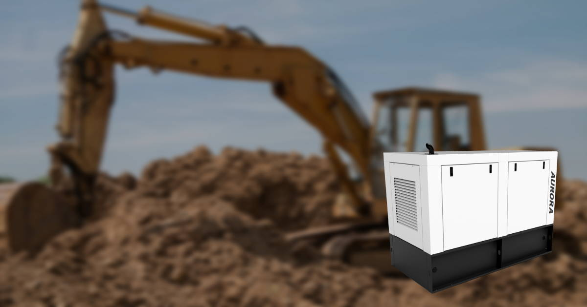 Generators for job-site, construction and industrial applications