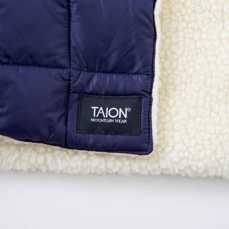 TAION(タイオン)/3ウェイブランケット/ネイビー/UNISEX
