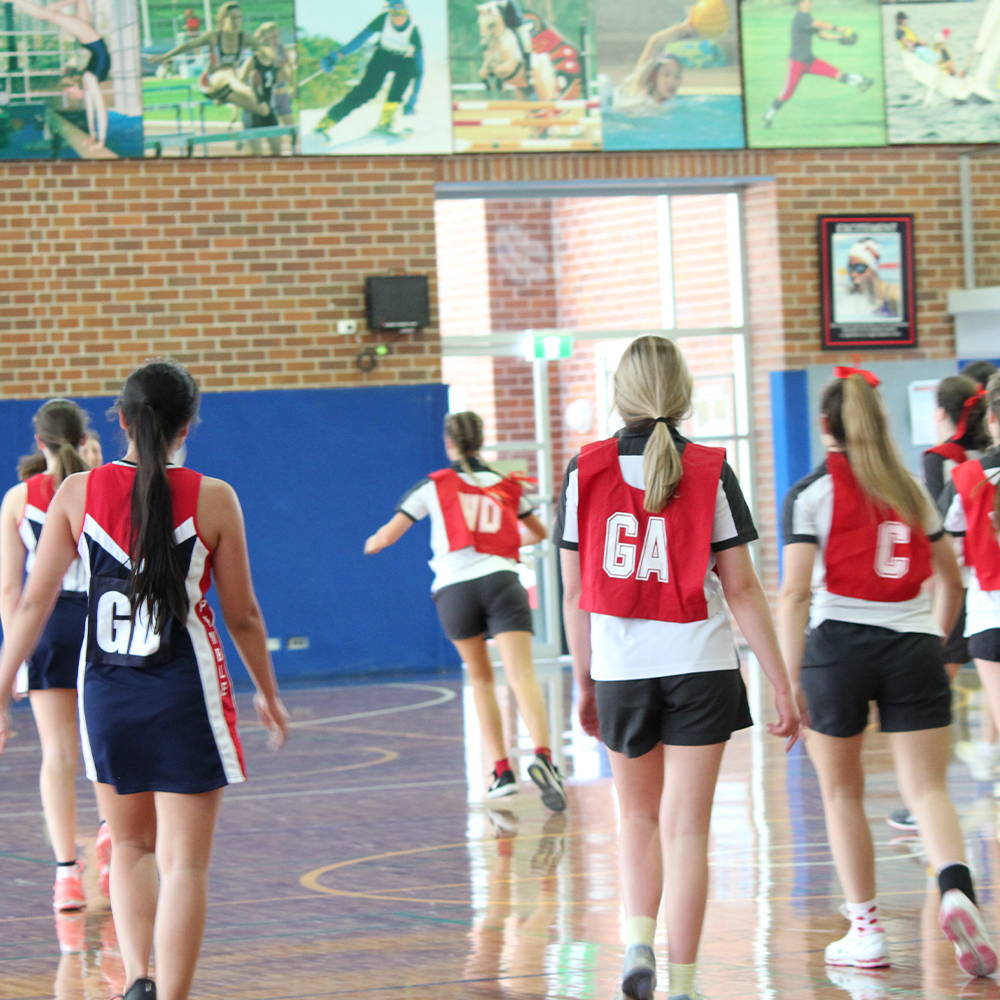 Valour design and manufacture netball dresses for Australia's most prestigious private schools including Queenwood and Pymble Ladies College