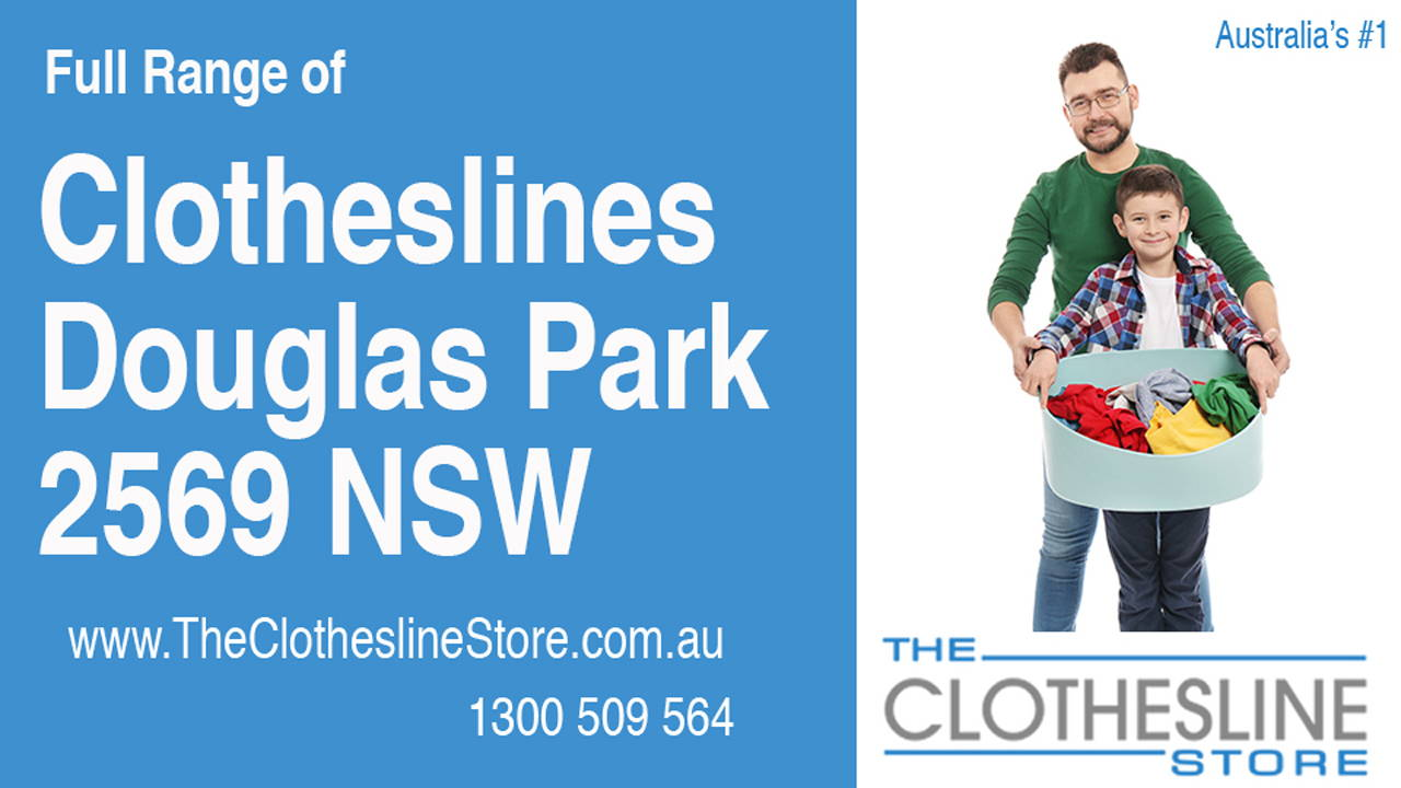 New Clotheslines in Douglas Park 2569 NSW