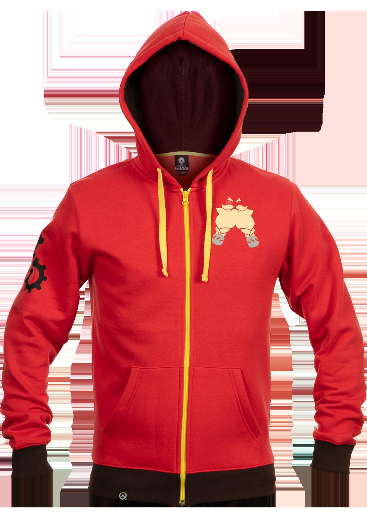 Product image of the Overwatch Ultimate Torbjorn Zip-Up Hoodie