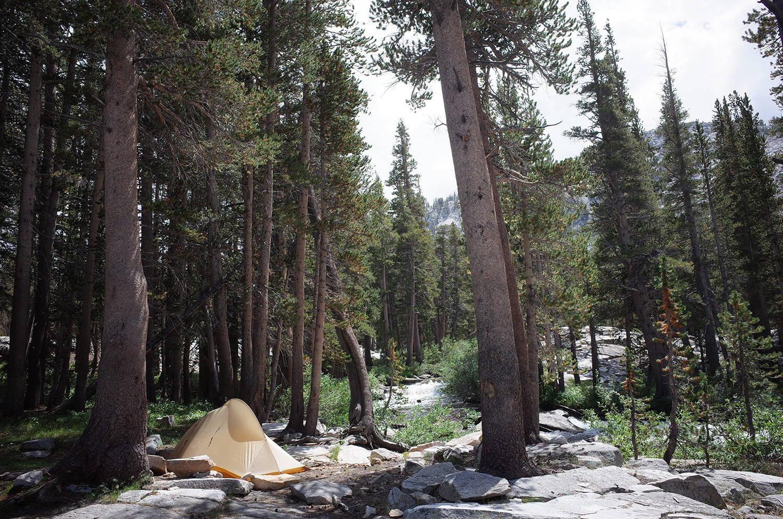 テント泊に魅せられて