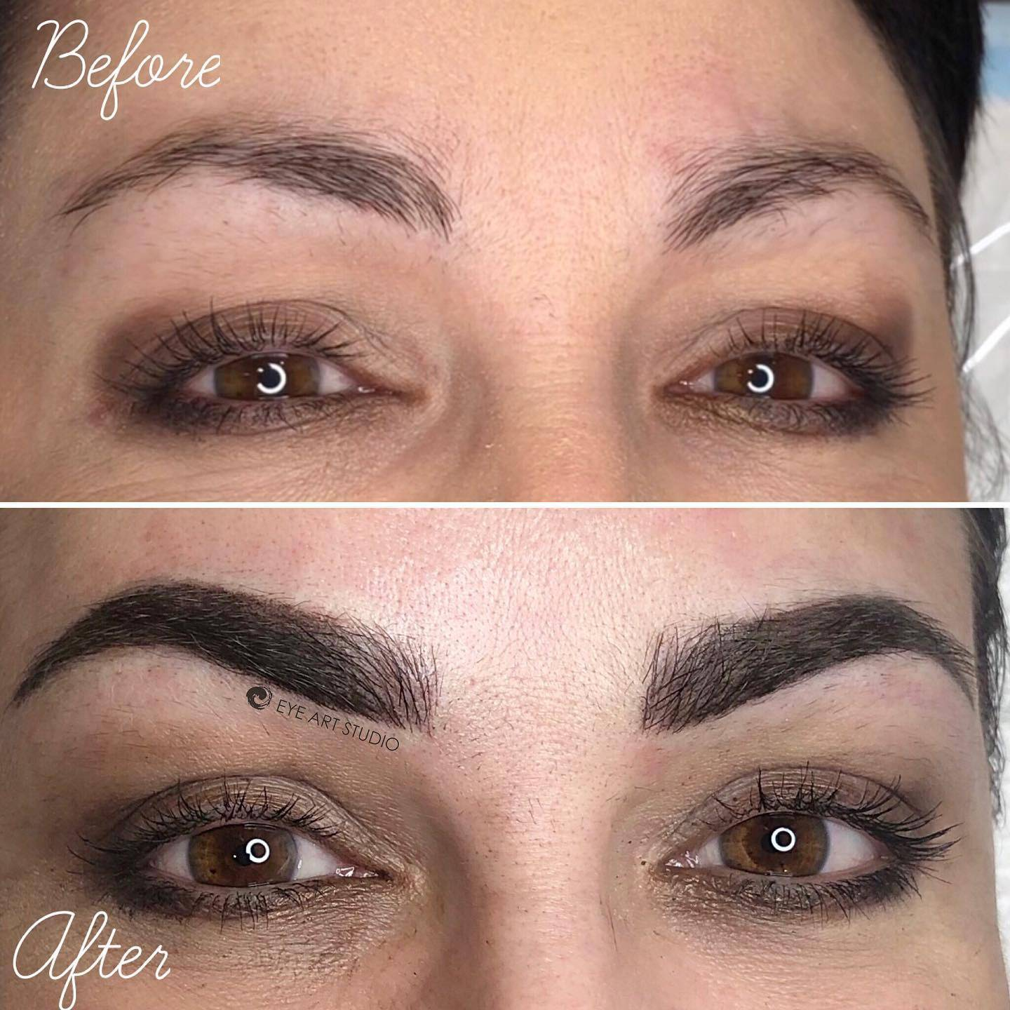 Eyebrow Combination Tattoo