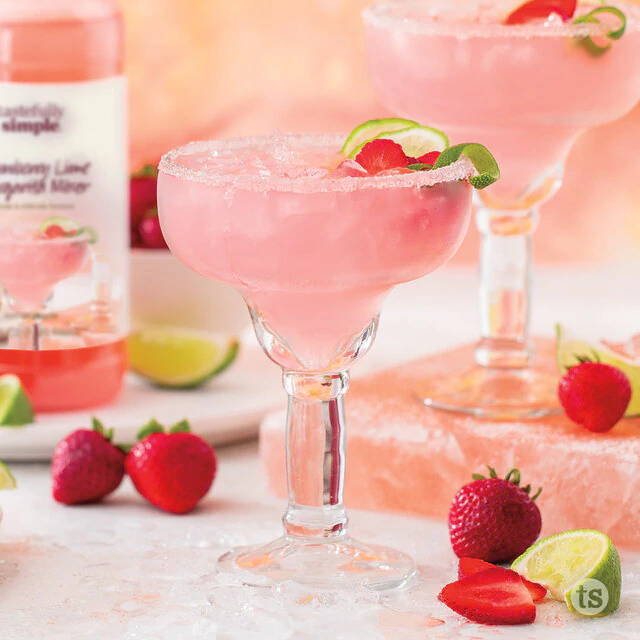 strawberry lime margarita mixer
