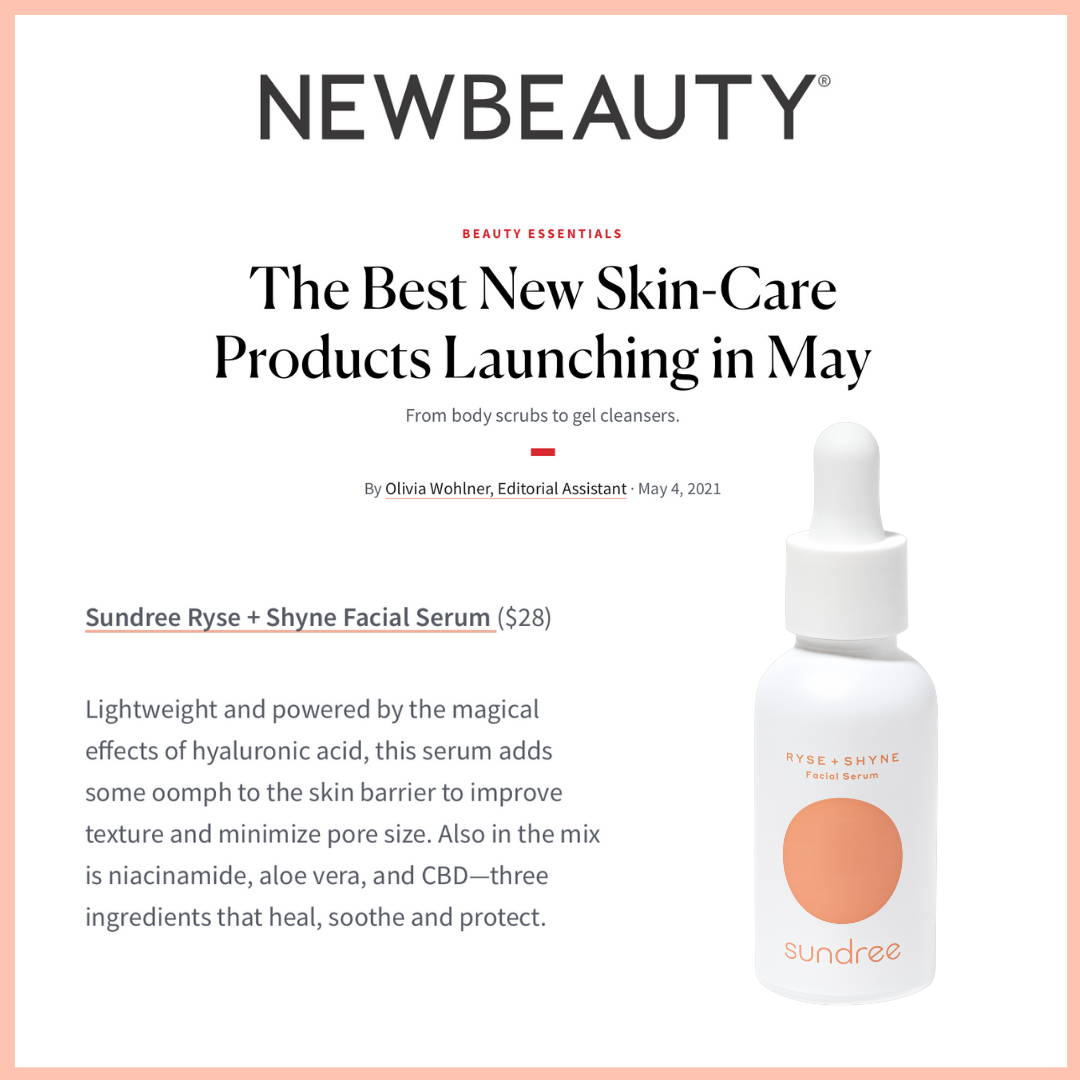 NewBeauty Best New Skincare Launches in May