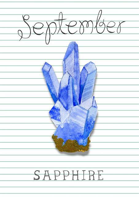 Birthstone - September - Sapphire - That Ring Shop