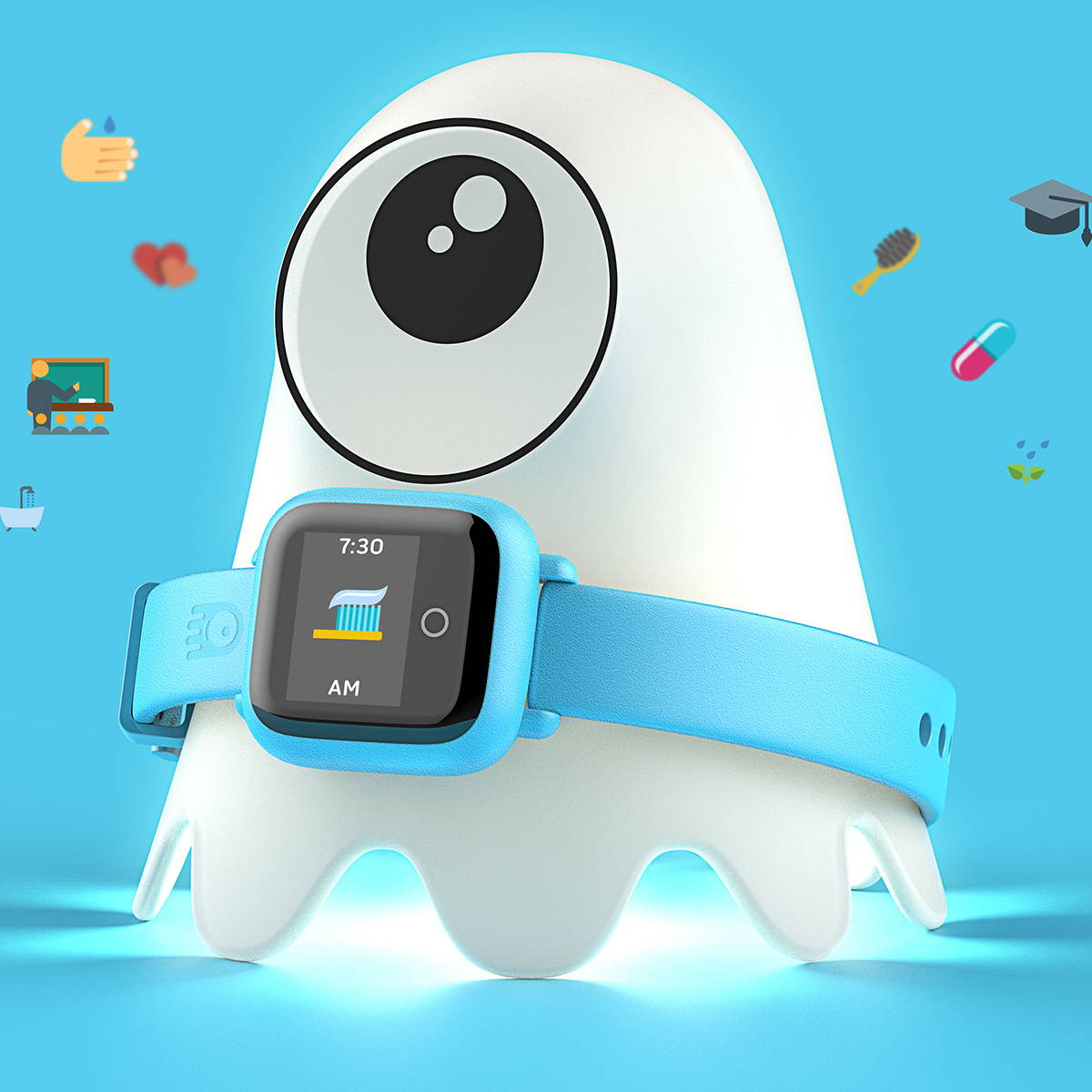 JOY FAMILYTECH | Octopus by JOY, the first icon-based watch